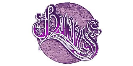 Baroness - band purple logo - 2015 - #MO9669696