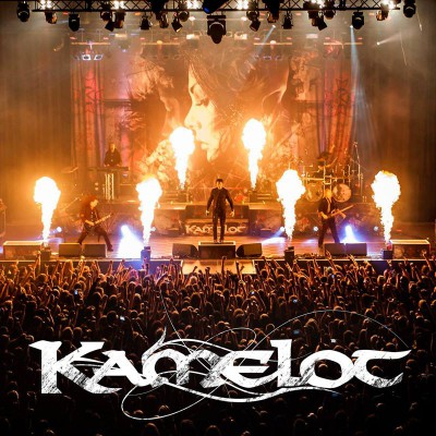 Kamelot - live band photo - band logo - 2015 - #MO009339SSMN
