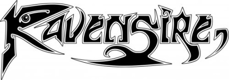 Ravensire - classic band logo - 2015 - #MO33099