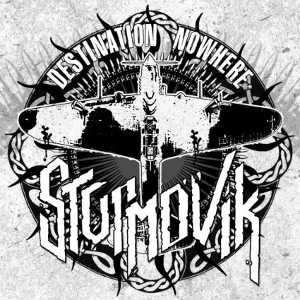 Sturmovik - Destination Nowhere - promo album cover pic - 2015 - #MO339900MO
