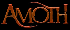 AMOTH - band logo - 2015 - #MO33NLSSLNMS9339
