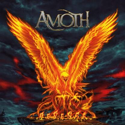 AMOTH - Revenge - promo album cover pic - 2016 - #MO3399NLSLSMO
