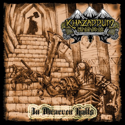 Khazaddum - In Dwarven Halls - EP - promo cover pic - 2015 - #MO033033