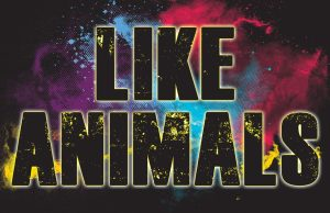 Like Animals - promo band logo - 2015 - #MO33NASF3320033