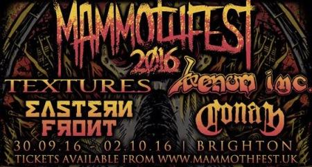 Mammothfest 2016 - promo festival flyer - #33NSSMMMO33