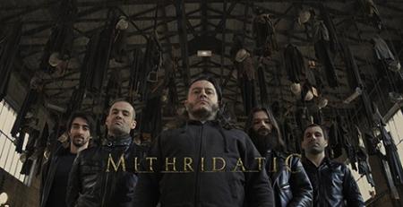 Mithridatic - promo band pic - band logo - 2015 - #MO333MNSS7393