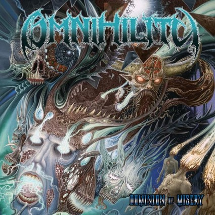Omnihility - Dominion Of Misery - promo album cover pic - 2015 - #MO007733MDFNST