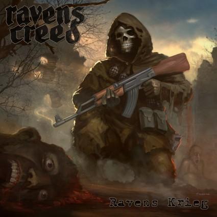 Ravens Creed - Ravens Krieg - promo album cover pic - 2015 - #MO33499MDF