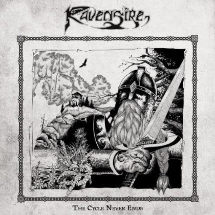 Ravensire - The Cycle Never Ends - promo album cover pic - 2015 - #MO33MSSN498733