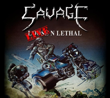 Savage - Live N Lethal - promo album cover pic - 2015 - #MO0033003
