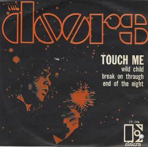 The Doors - Touch Me - promo cover sleeve - 1968 - #MOSNFMDF9933SC