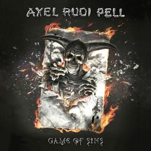 Axel Rudi Pell - Game Of Sins - promo album cover pic - 2016 - #MOILMF33993993