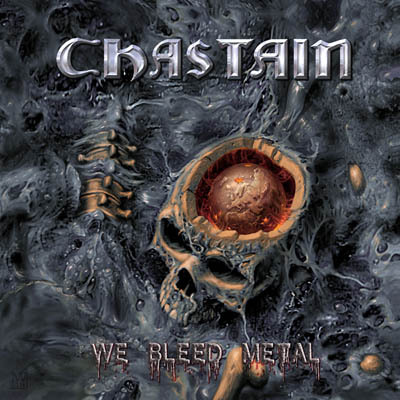 Chastain - We Bleed Metal - promo album cover pic - 2015 - #MOILMF3399ILMD3993