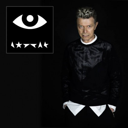 David Bowie - Lazarus Single - artwork promo - 2015 - #MO3399ILMFD