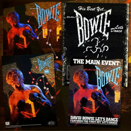 David Bowie - Let's Dance - collage promo - #MO7799ILMFD