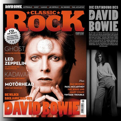 David Bowie - Ziggy Stardust - promo - Classic Rock - #MO9933ILMFD