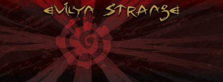 Evilyn Strange - band logo - banner promo - #MO33ILMFDSP9939
