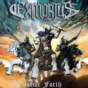 Exmortus - Ride Forth - promo album cover pic - 2016 - #MO33ILMFPD990099