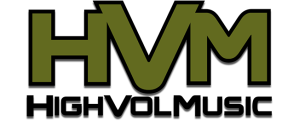 HighVolMusic - logo - 2016 - #MO3999ILMFD8IE996