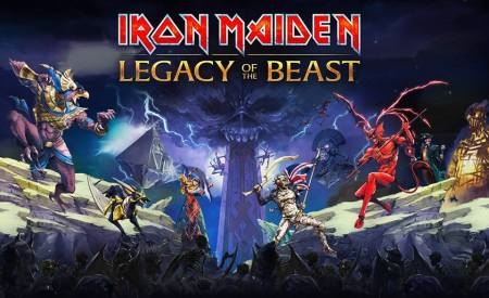 Iron Maiden - Legacy Of The Beast - promo game banner pic - 2016 - #MO33ILMFD99
