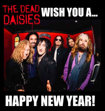 The Dead Daisies - Happy New Year - 2016 - promo band pic - #MO3939ILMFMD99