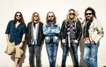 The Dead Daisies - promo band pic - Doug Aldrich - 2016 - January - #MO339093ILMFD