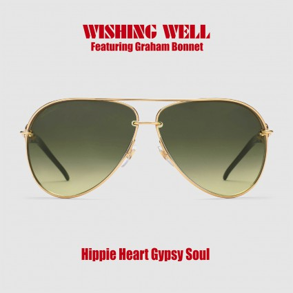 Wishing Well - Hippie Heart Gypsy Soul - single cover art - Graham Bonnet - 2016 - Inverse Records - #MO33ILMFD99
