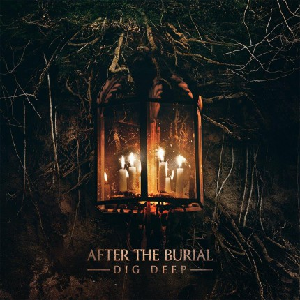 After The Burial - Dig Deep - promo album cover pic - 2016 - #99MO099099