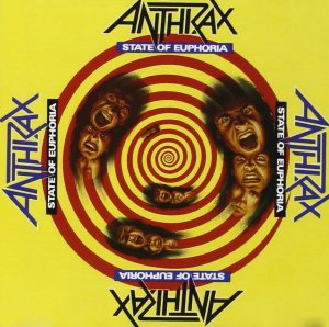 Anthrax - State Of Euphoria - promo cover pic - #199MO99ILMFF