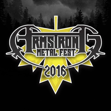 Armstrong Metal Fest 2016 - promo logo - #MO99ILMFD99