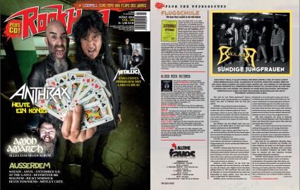 BLACKHOUR - ROCK HARD magazine - #MO3993 - 2016