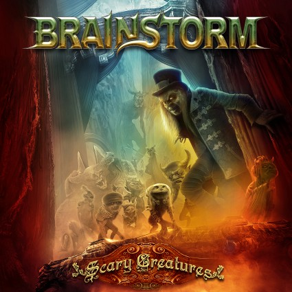 BRAINSTORM - Scary Creatures - promo album cover pic - 2016 - 999660010
