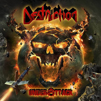 Destruction - Under Attack - promo cover pic - 2016 - #MO0990ILMFP
