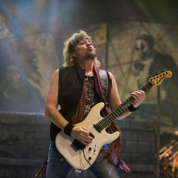 Iron Maiden - Adrian Smith - 2016 - The Book Of Souls World Tour - #MO990099