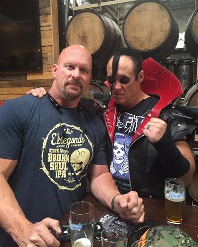 Jerry Only - Stone Cold Steve Austin - publicity pic - 2016 - #MO9993MOILMFDSP