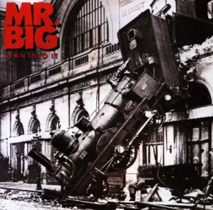 MR BIG - Lean Into It - promo album cover pic - 1991 - #MO989ILMFF