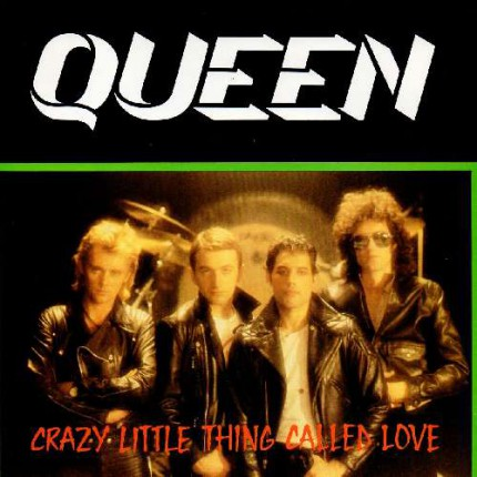 Queen - Crazy Little Thing Called Love - promo 45rpm cover pic - 1980 - #MO990ILMF36