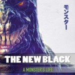 The New Black - A Monsters Life - promo album cover pic - 2016 - #MOILMFDSR933933