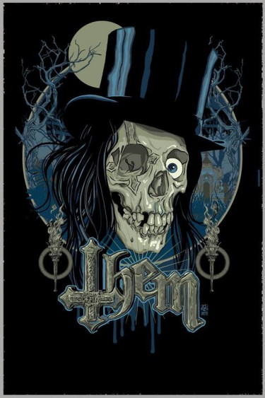 THEM - band promo skull - top hat - #MO2016993366