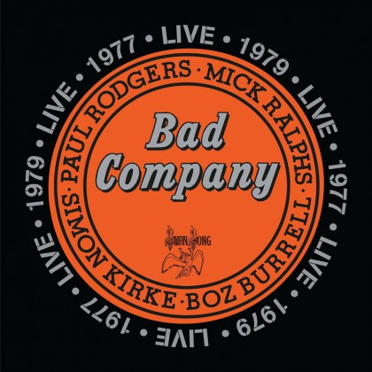 Bad Company - Live In Concert 1977 & 1979 - promo album cover pic - #MO3399ILMFM