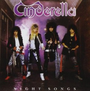 Cinderella - Night Songs - promo album cover pic - #MO0099ILMF33