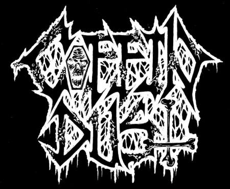 COFFIN DUST - band logo - 2016 - #MO0099ILMFMFDM