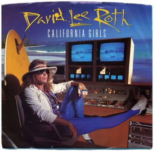 David Lee Roth - California Girls - promo 45rpm cover single - #MO9909933ILMFM