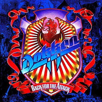 Dokken - Back For The Attack - promo album cover pic - 1987 - #MO990ILMF99