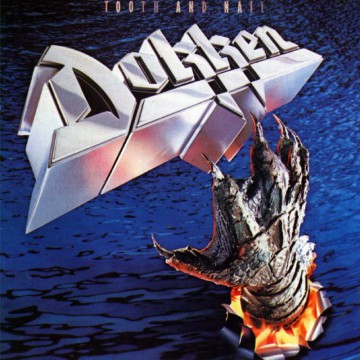Dokken - Tooth And Nail - promo album cover pic - #MO99099ILMF777