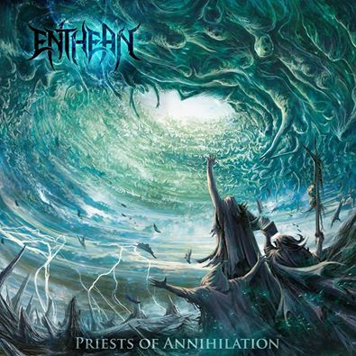 Enthean - Priests Of Annihilation - promo cover pic - 2016 - #MO999333