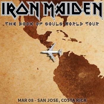 Iron Maiden - San Jose - Costa Rica - promo tour poster pic - 2016 - #MO9933ILMF