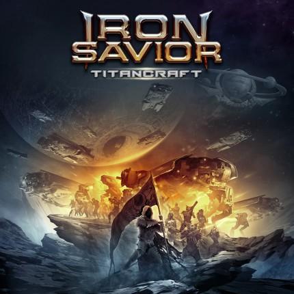 Iron Savior - Titancraft - promo album cover pic - 2016 - #MO99066ILMF