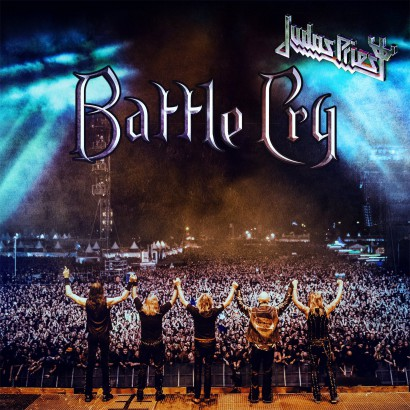 Judas Priest - Battle Cry - promo cover pic - 2016 - #MOJP999099ILMF