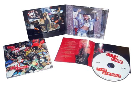 Lita Ford - Time Capsule - 2016 - promo CD inserts - #MO9909933